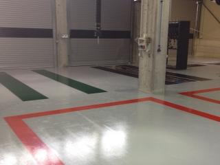Officina Meccanica | Colorflooring srl -Pavimenti in resina autorimesse, parcheggi e officine