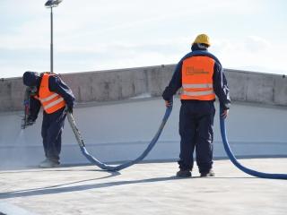 impermeabilizzazione terrazzo con resina poliureica - Colorflooring