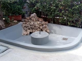 Impermeabilizzazione giardini pensili e vasche con resina poliureica