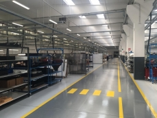Pavimento in resina settore Aereospace