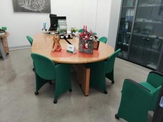 Pavimento  di uffici con cristallizzazione del calcestruzzo - Colorflooring