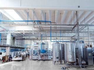Pavimento in resina per Industrie operanti nel settore chimico
