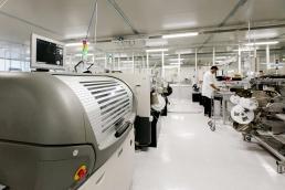Pavimento in resina per Industrie operanti nel settore  dell' Elettronica