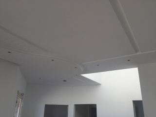 Controsoffitto in cartongesso - color flooring
