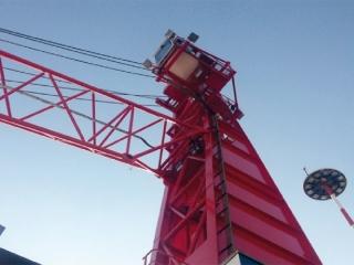 Verniciatura torre in ferro - Colorflooring