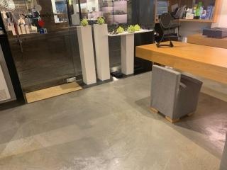 Cemento resina - Settore commerciale - colorflooring