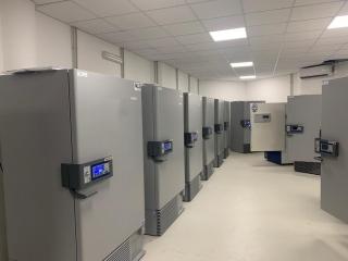 Pavimento in resina per una sala di celle frigo in una Industria Farmaceutica