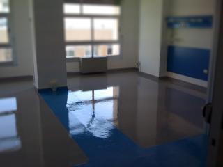 Pavimento  settore Sanitario Ospedaliero - colorflooring