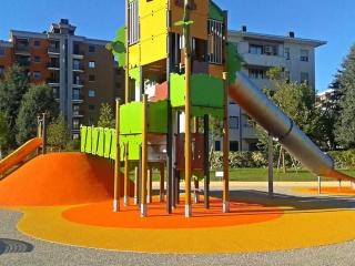 Pavimento Area gioco Rho - colorflooring